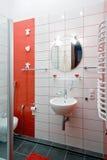 отечественная нутряная самомоднейшая комната Стоковое фото RF