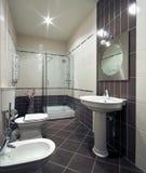 отечественная самомоднейшая комната Стоковая Фотография RF