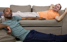 Отечественные пары гомосексуалиста Стоковое фото RF