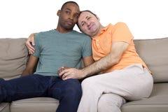 Отечественные пары гомосексуалиста Стоковые Изображения RF