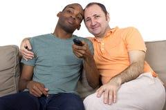 Отечественные пары гомосексуалиста Стоковое Фото