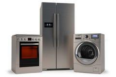 Отечественные приборы, шайба, холодильник, плита бесплатная иллюстрация