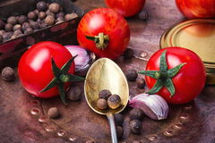 Отечественный томат соленья Стоковое Фото