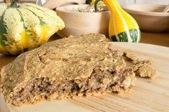 Отечественный unleavened хлеб ячменя Стоковая Фотография