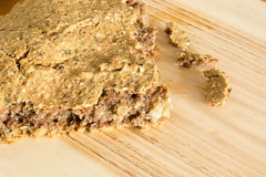 Отечественный unleavened хлеб ячменя Стоковые Изображения