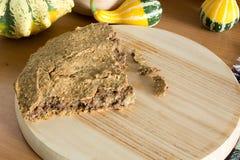 Отечественный unleavened хлеб ячменя Стоковая Фотография RF