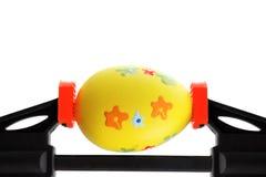 Отжатое пасхальное яйцо Стоковое фото RF