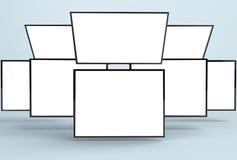 Отзывчивый модель-макет сети/отзывчивый модель-макет App Стоковая Фотография