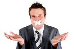 отказанная речь Стоковые Фото