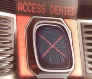 отказанный доступ Стоковые Фото