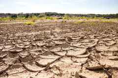 Отказы на сухом песке Стоковое Изображение