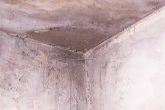 отказы огораживают белизну угол стены в падениях затопленные соседи прессформа негигиенично стоковое изображение