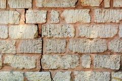 Отказ в кирпичной стене Стоковое фото RF
