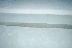 Отказ в льде Стоковые Фотографии RF