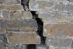 Отказ на большой стене замка Стоковая Фотография