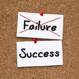 Отказ успеха Стоковое Изображение RF