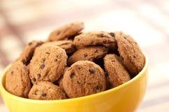 откалывает печенья шоколада Стоковая Фотография RF