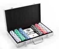 откалывает покер Стоковые Фото