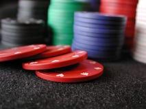 откалывает покер Стоковое Изображение