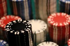 откалывает покер Стоковое Фото