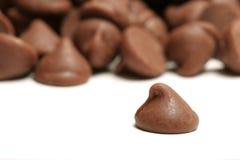 откалывает шоколад стоковая фотография