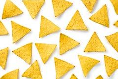 откалывает nachos стоковая фотография rf