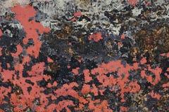 Откалыванная краска текстурировала предпосылку от дна шлюпки стоковые фото