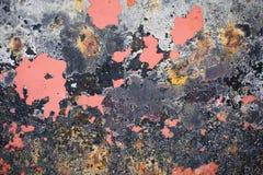 Откалыванная краска текстурировала предпосылку от дна шлюпки стоковое фото rf