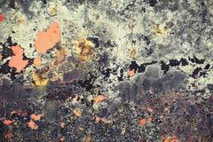 Откалыванная краска текстурировала предпосылку от дна шлюпки стоковая фотография rf