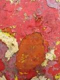 откалыванная краска Стоковая Фотография RF