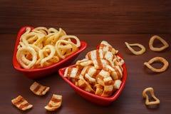 откалывает вкусную картошку стоковое фото rf