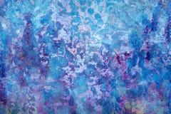 Откалыванная краска на старой предпосылке текстуры бетонной стены Стоковое Изображение RF