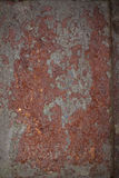 Откалыванная старая краска на стене Стоковое Изображение