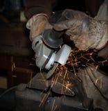 откалывать поворачивать инструментов електричюеского инструмента машины Стоковая Фотография RF