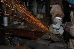 откалывать поворачивать инструментов електричюеского инструмента машины Стоковые Фотографии RF