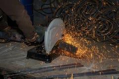 откалывать поворачивать инструментов електричюеского инструмента машины Стоковые Изображения RF
