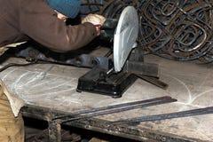 откалывать поворачивать инструментов електричюеского инструмента машины Стоковые Изображения