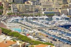 Отклонение к княжеству Монако стоковая фотография