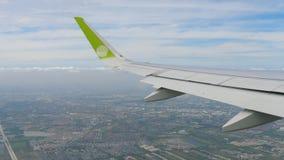 Отклонение от аэропорта Бангкока сток-видео