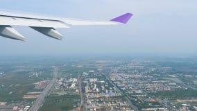 Отклонение от Бангкока сток-видео