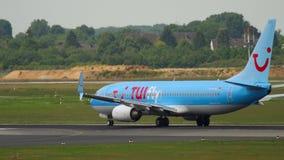 Отклонение TIUfly Боинга 737 сток-видео
