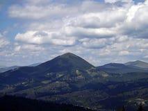 Отключение горы в Vatra Dornei Стоковая Фотография