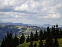 Отключение горы в Vatra Dornei Стоковое Изображение