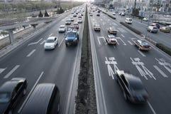 отключение движения автомобилей стоковое фото rf