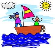 отключение sailing Стоковое фото RF