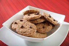 отколите печенья шоколада Стоковые Изображения RF