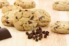 отколите печенья шоколада Стоковое фото RF
