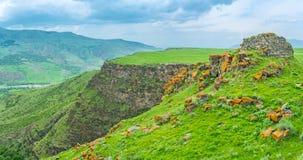 Откройте горные села стоковые изображения rf