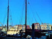 Откройте город Венеции, Италию Увлекательность, уникальность и волшеб стоковые фото