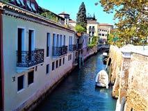 Откройте город Венеции, Италию Увлекательность, уникальность и волшеб стоковые изображения